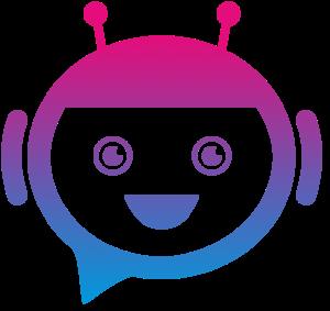 Play&Code Logo - Roboter Kopf