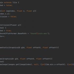 Coding von Java