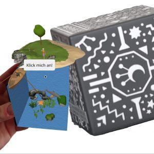 Merge Cube und Augmented Reality Unterwasserwelt