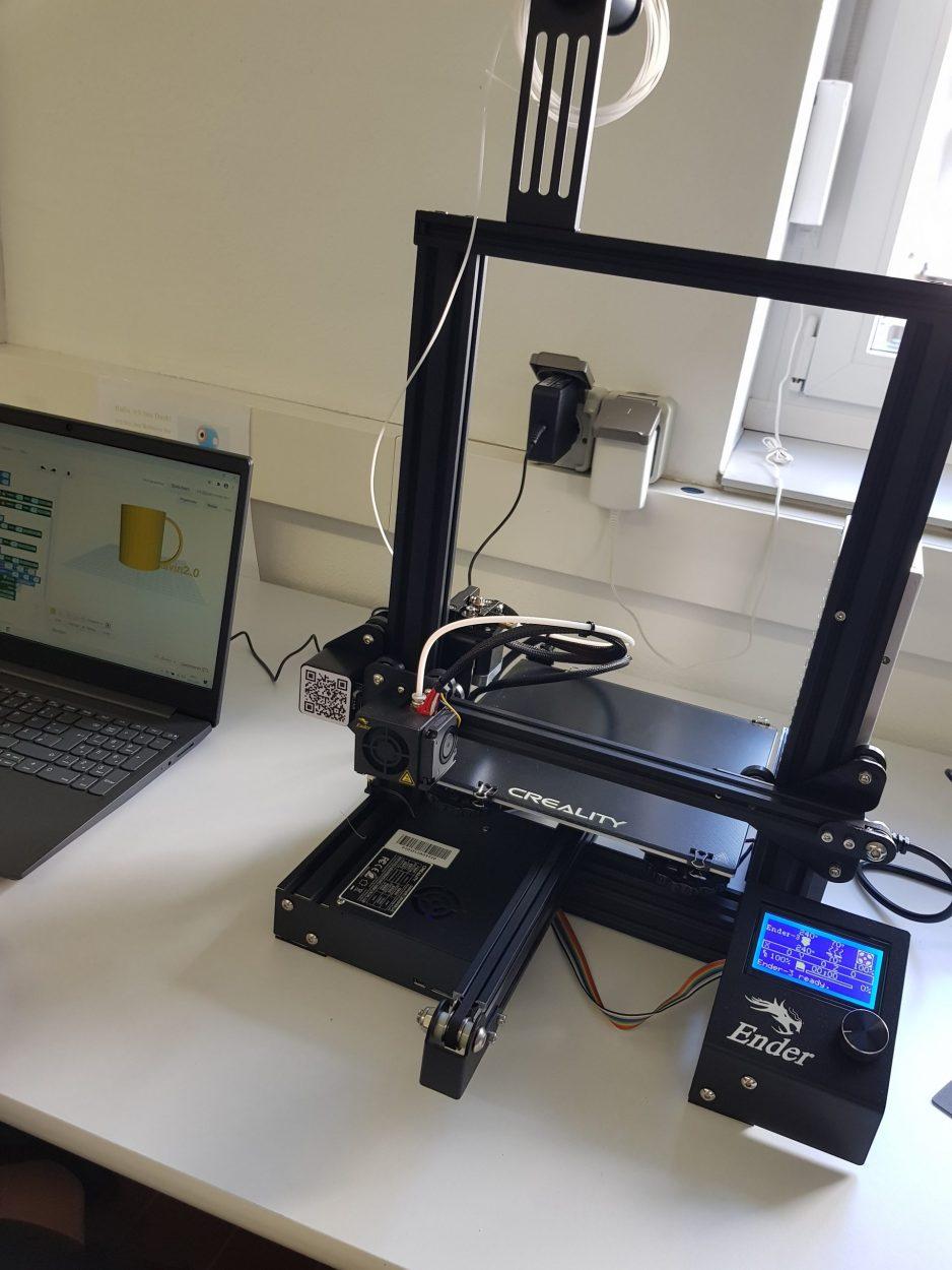 Ein 3D Drucker